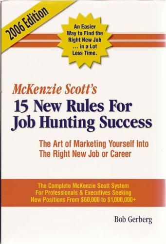 McKenzie Scott's 12 New Rules for Job Hunting Success