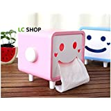Angle Simple JA-002 Novelty Gift Cartoon Shaped Tissue Box Cover Pink