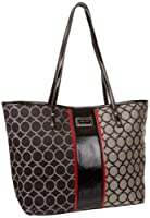 Nine West 9S Jacquard Medium Tote Handbag from Nine West
