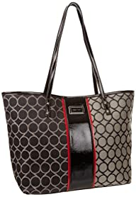 Nine West 9S Jacquard Medium Shopper Tote Handbag