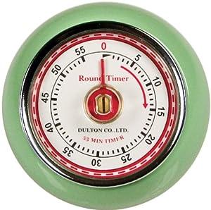 Fox Run Retro Kitchen Timer with Magnet, Mint Green by Fox Run