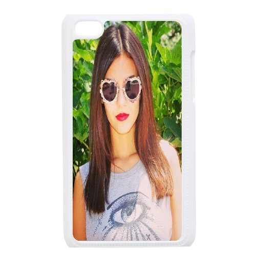 Ipod Touch 4 Cases, Victoria Justice Hair is Really Nice! Men Cool Cases for Ipod Touch 4 {White} (Really Cool Ipod Touch Cases compare prices)