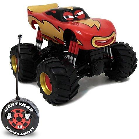 Disney / Pixar CARS Toon Exclusive Monster Truck R/C Vehicle Lightning McQueen