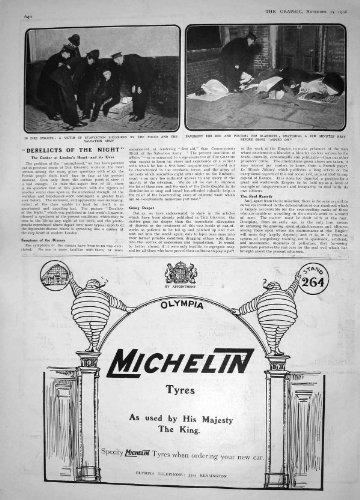 INEDIA DELLA VITTIMA DELL'ESERCITO DELLA SALVEZZA DI 1908 PNEUMATICI DI MICHELIN