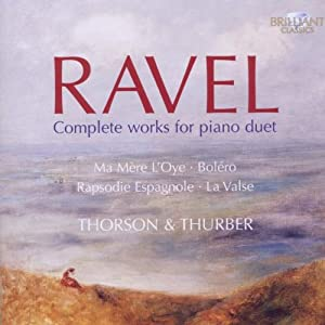 Ravel - Complete works for piano duet