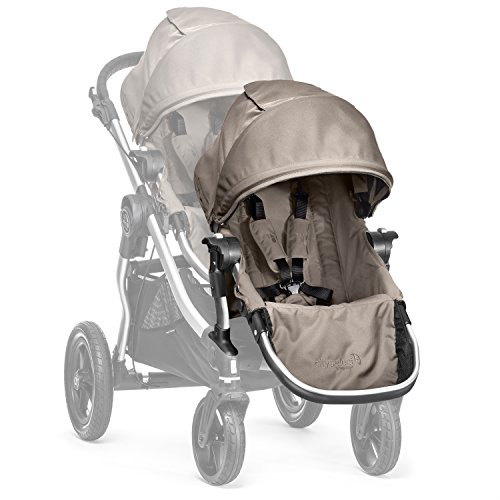Baby Jogger City Select Silver Frame Second Seat Kit, Quartz