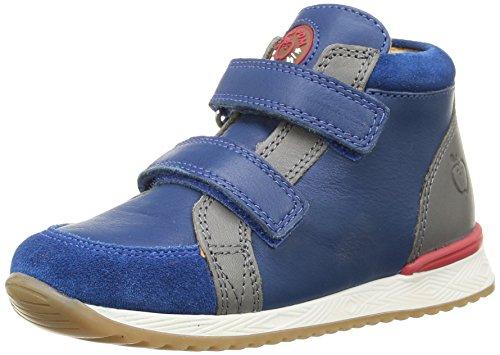 Shoo Pom - Vista, Sneakers per bambini e ragazzi, multicolore (suede/lipiz bleu/multi), 24