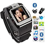 """New N388 Unlocked 1.4"""" Touch Screen Watch Mobile Phone Adjustable Band Cell phone"""