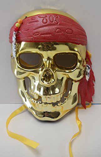 Pirates of the Caribbean Themed Universal Size Kids Halloween Mask