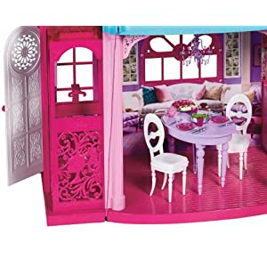 Barbiestory Dream House on Barbie Dream Townhouse 3 Story Dream Play House X3551   Ebay