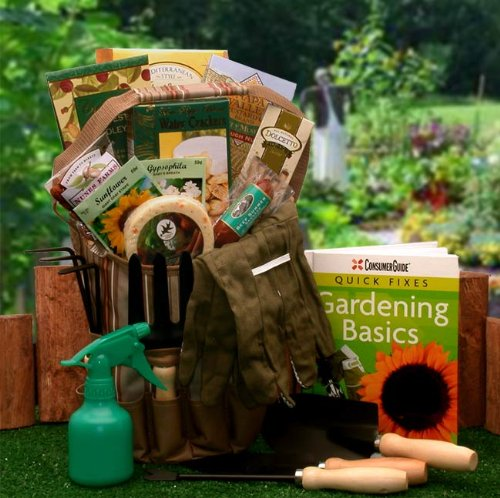 Gardening Lover's Basics Gardening Gift Tote