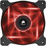Corsair Air Series AF120 LED Quiet Edition High Airflow Fan Single Pack - Red (CO-9050015-RLED)
