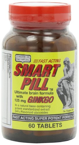 Only Natural Smart Pill, 125 Mg 60-Count