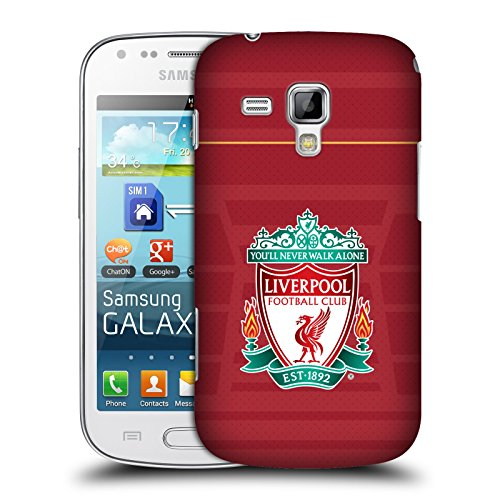Official Liverpool Football Club Crest Home Shirt Kit 2016/17 Hard Back Case for Samsung Galaxy S Duos S7562 (Chs Duo compare prices)