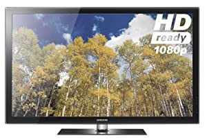 Samsung PS50C550 50-inch Widescreen Full HD 1080p 600Hz AllShare Plasma TV with Freeview