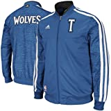 NBA adidas Minnesota Timberwolves On-Court Weekday Full Zip Track Jacket - Slate Blue (Large) at Amazon.com