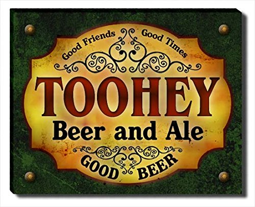 toohey-beer-ale-stretched-canvas-print