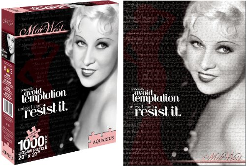 Mae West 1000 Piece Jigsaw Puzzle - 1