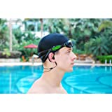 GSI Waterproof 2 GB MP3 Player for Underwater Swimming/Sports And Outdoor Biking Includes Pair Of Quality Goggles And Waterproof In-Ear Headphones/Earphones - Connect to all Audio iPod/iPhone/iTouch/MP3 - Upgraded Model