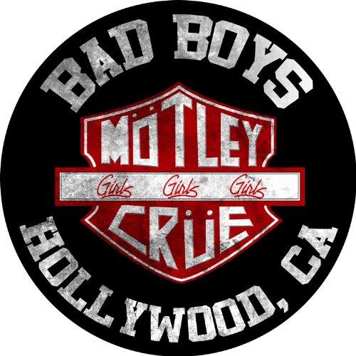 Mötley Crüe - Bad Boys - Rückenaufnäher