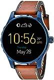 Fossil Q Marshal écran tactile Brown Smartwatch en cuir