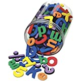 School Smart Foam Magnetic Letters And Numbers Set Of 110