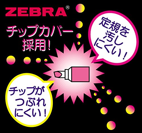 Zebra Sparky-1 WKP1-10C Fluorescent Marker (10-Colour Set)
