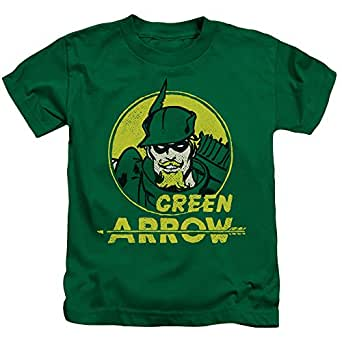 Green arrow dc comics superhero retro comic Boys superhero t shirts