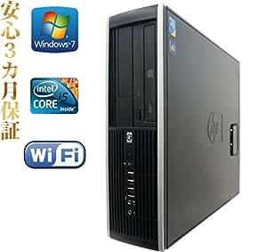 【KingOffice2013搭載】【デスクトップパソコン】【Win7 64Bit搭載】【無線機能あり】HP 8100/Core i5搭載/メモリ8GB/HDD2TB/DVDスーパーマルチ/ (黒)
