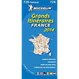 Carte Grands Itinéraires France 2014 Michelin