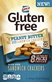 Lance Gluten Free Sandwich Crackers, Peanut Butter, 8 Count (Pack of 4)