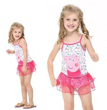 Toddler Swimwear Bikini Kids Bathing Suit Swimsuit Princess Swim,3-8y