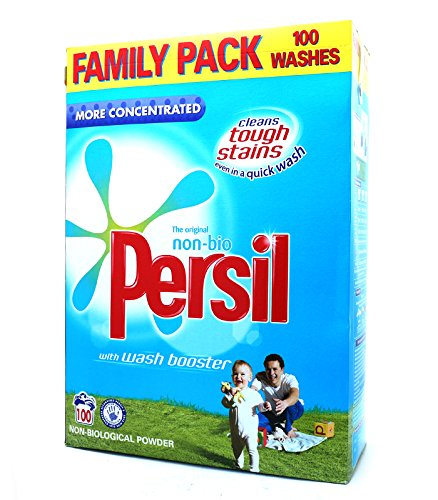 Persil Non-biological More Concentrated Powder Detergent (7kg, 100 Washes)