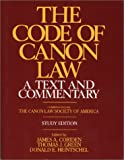 img - for Code of Canon Law a Text and Commentary, Study Edition book / textbook / text book