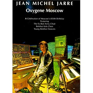 Jean Michel Jarre - Concert Oxygene Moscow affiche
