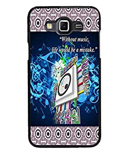 PrintDhaba Quote D-3182 Back Case Cover for SAMSUNG GALAXY GRAND 3 (Multi-Coloured)