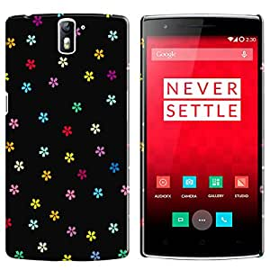 Theskinmantra Flowers of peace OnePlus One mobile panel