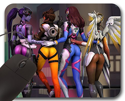 Mousepad Overwatch Booties (B) - Tappetino per Mouse OW