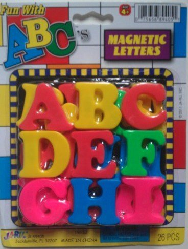 Fun With ABC's Magnetic Letters