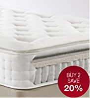 Latex Pillowtop 1500 Mattress - Medium Support - 7 Day Delivery