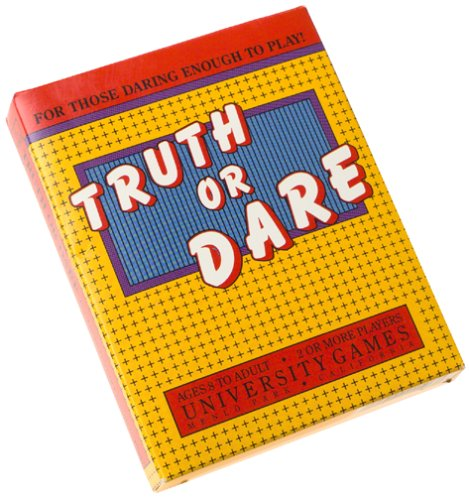 Truth or Dare Travel Card Game 1988