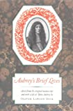Aubrey's Brief Lives (Nonpareil Books)