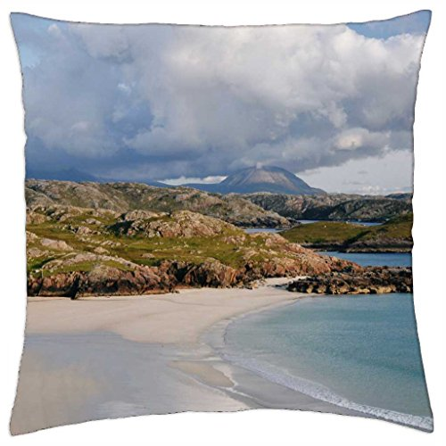 polin-beach-kinlochbervie-scotland-throw-pillow-cover-case-18-x-18