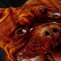 Funny Dog Emotion Mens Doggy Face Black Sweatshirt S-7XL | Wellcoda