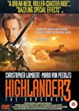 Highlander 3 - The Sorcerer [DVD]