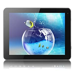 Excelvan ET903 Quad Core 16GB Android 4.1 Tablet PC, 9.7 inch IPS Plus 5 Points Touch Screen, with Dual Camera Retina Display External 3G MID from Excelvan