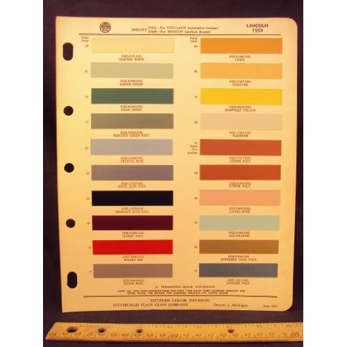 Ford motor company ford on twitter autos weblog for Ford motor paint colors