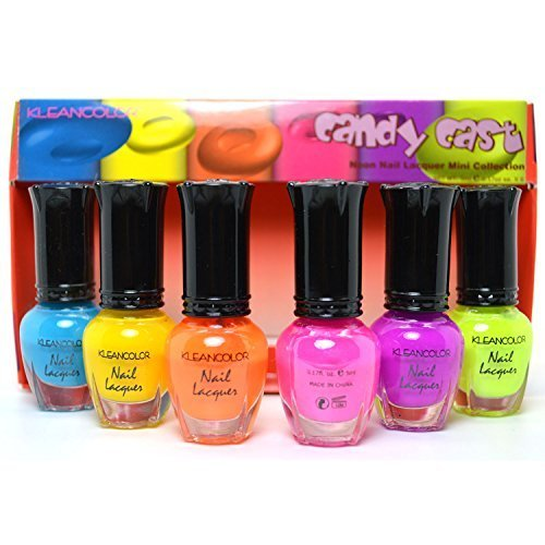 kleancolor-neon-nail-lacquer-mini-collection-candy-cast-nail-polish-art593-free-earring-gift