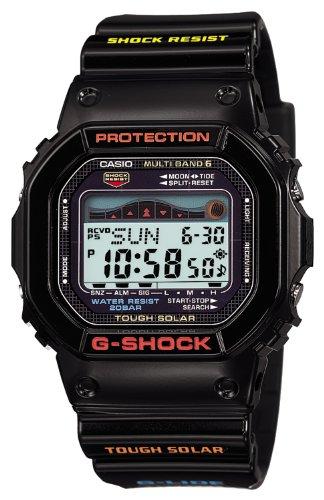 [カシオ]CASIO 腕時計 G-SHOCK ジーショック G-LIDE ジーライド タフソーラー 電波時計 MULTIBAND6 GWX-5600-1JF メンズ