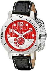 Swiss Legend Men's 10537-05 Scubador Analog Display Swiss Quartz Black Watch